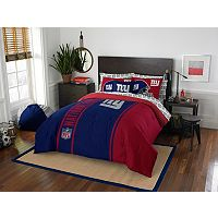 New York Giants Soft & Cozy Full Comforter Set by Northwest