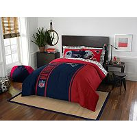 New England Patriots Soft & Cozy Full Comforter Set by Northwest