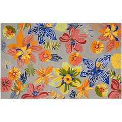 Safavieh Four Seasons Melbourne Floral Indoor Outdoor Rug by