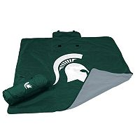 Logo Brand Michigan State Spartans All-Weather Blanket