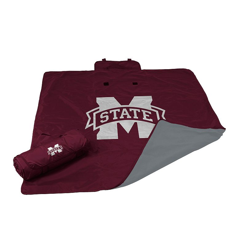 Logo Brand Mississippi State Bulldogs All-Weather Blanket
