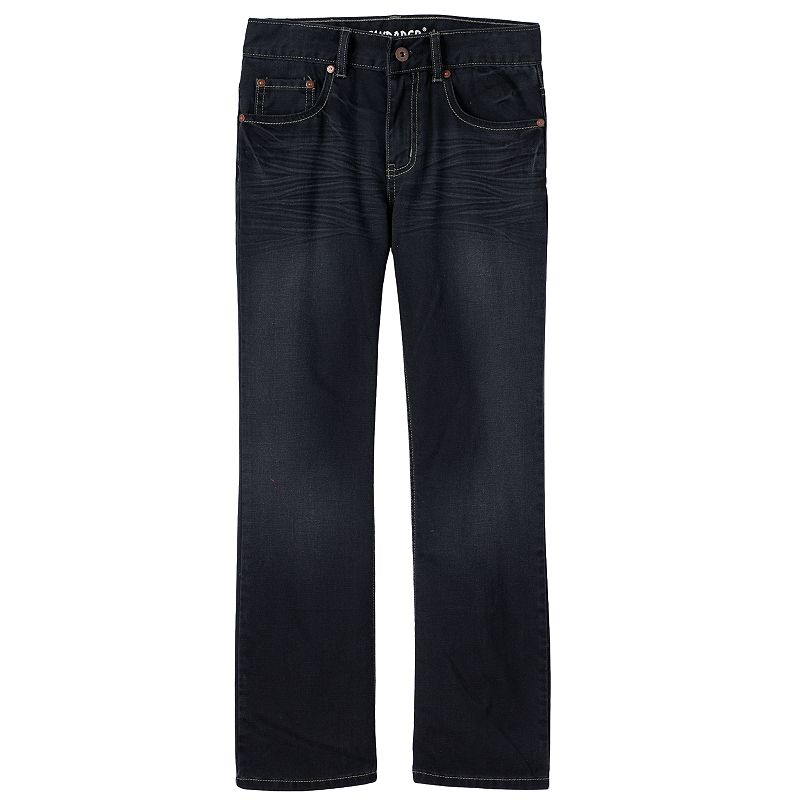 Boys 8-20 Flypaper Pieced Boot Slim Jeans