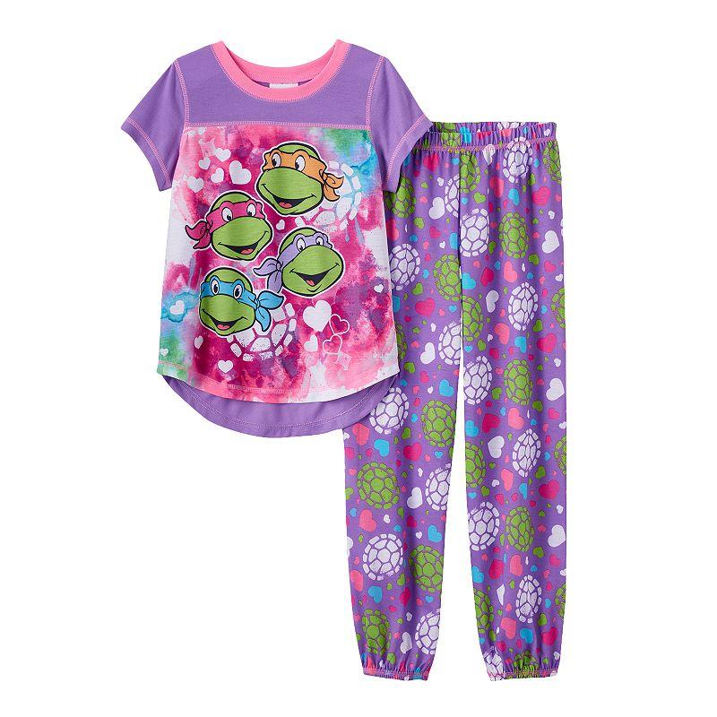 Teenage Mutant Ninja Turtles Girls 4-10 Pajama Set