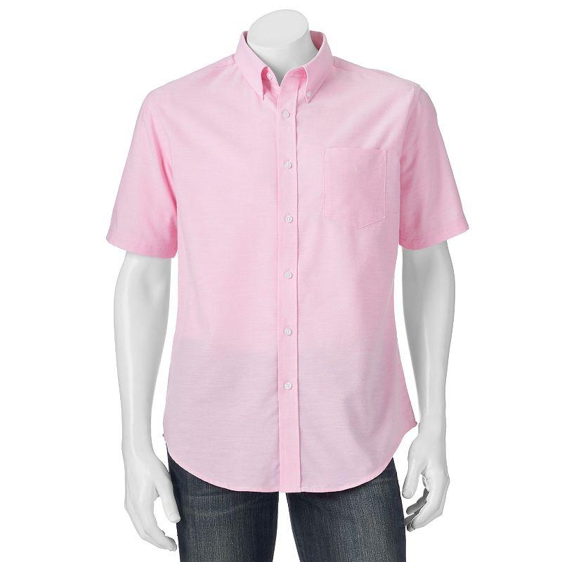 Big & Tall Croft & Barrow® Classic-Fit Oxford Button-Down Shirt