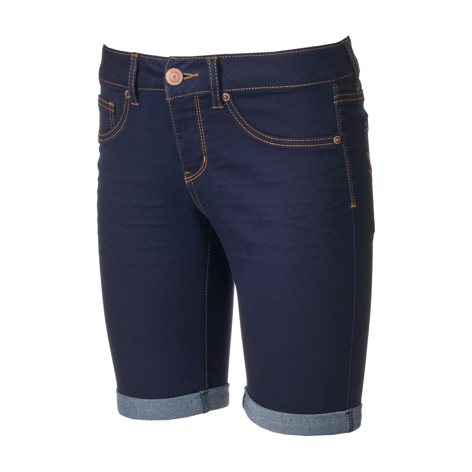 Navy Blue Shorts For Juniors