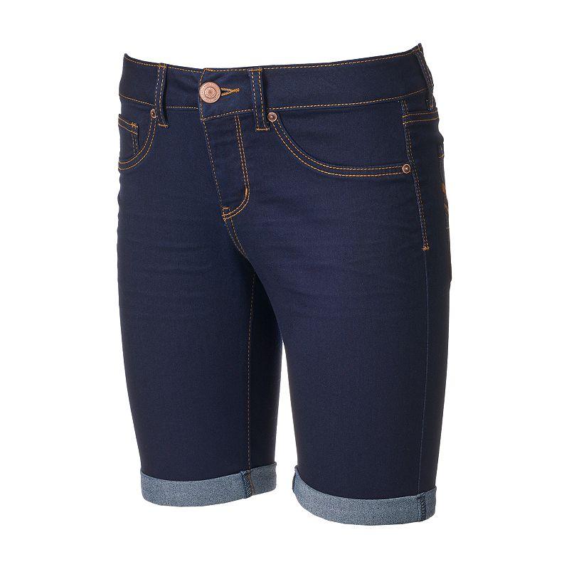 Juniors' SO® Denim Bermuda Shorts