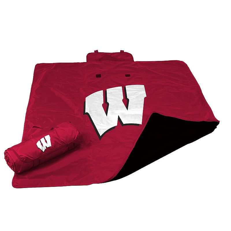 Logo Brand Wisconsin Badgers All-Weather Blanket