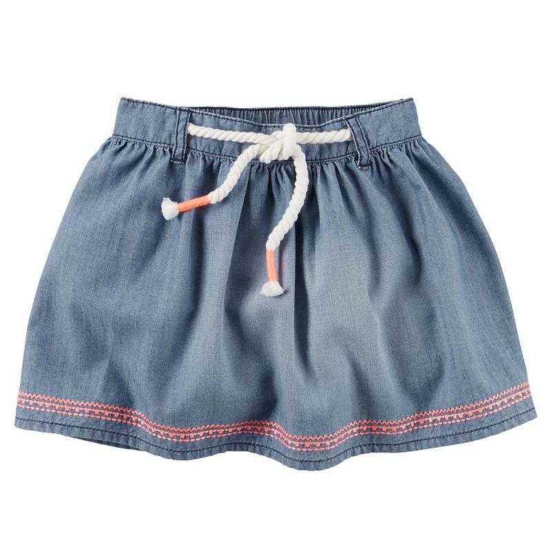 Baby Girl Carter's Chambray Skirt