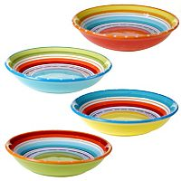 Certified International Mariachi 4-pc. Pasta Bowl Set
