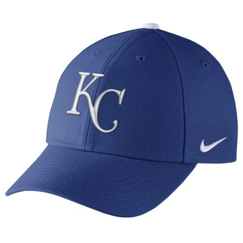 Adult Nike Kansas City Royals Wool Classic Dri-FIT Adjustable Cap