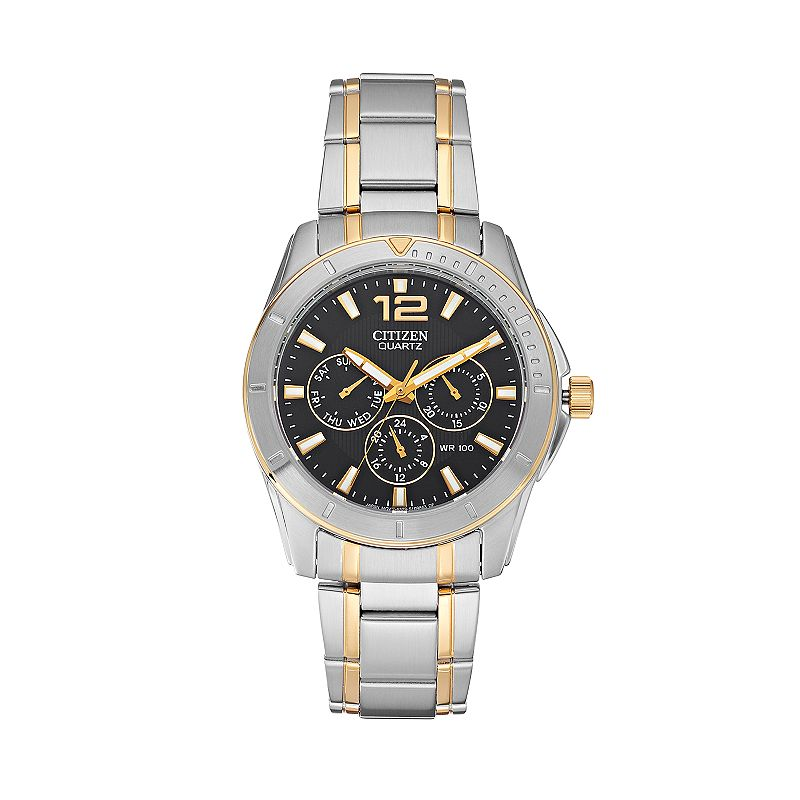 Citizen Men's Two Tone Stainless Steel Watch - AG8304-51E