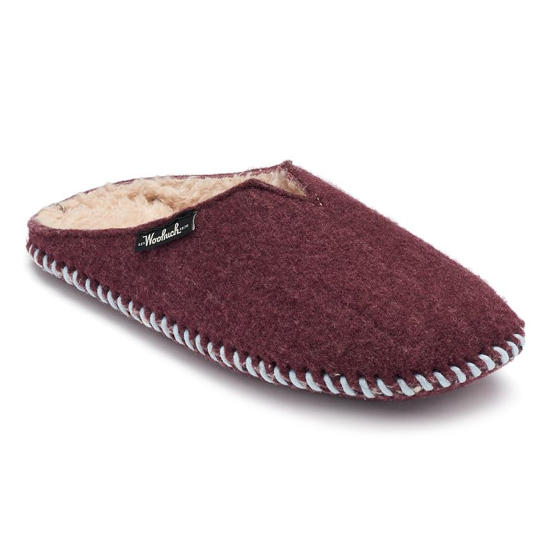Woolrich Felt Mill Women's Faux-Fur Clog Slippers