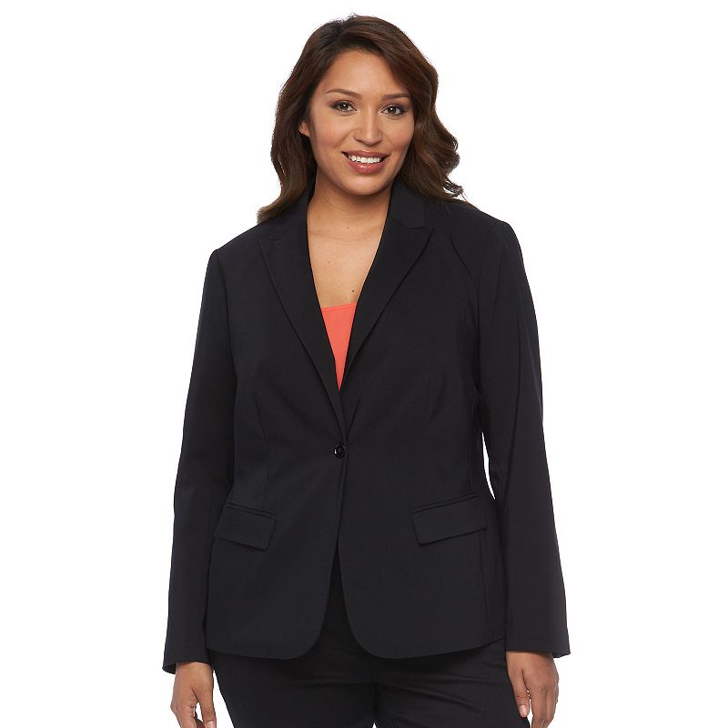 Plus Size Apt. 9® Solid Lucca Jacket