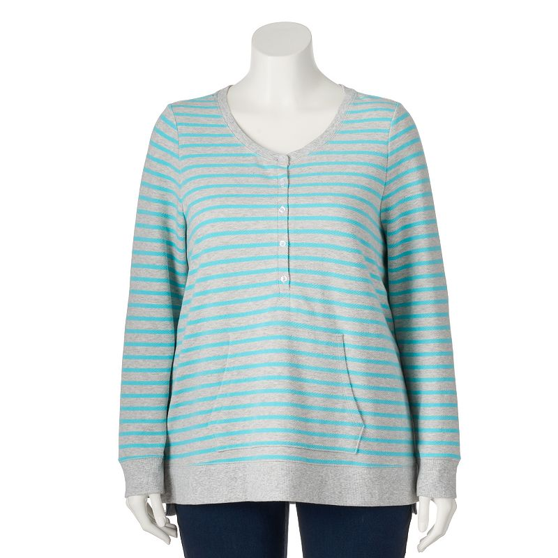 Plus Size SONOMA Goods for Life™ French Terry Sweatshirt