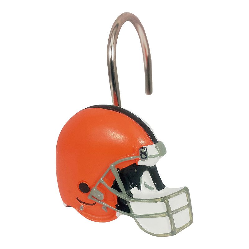 Cleveland Browns 12-Pack Shower Curtain Hooks