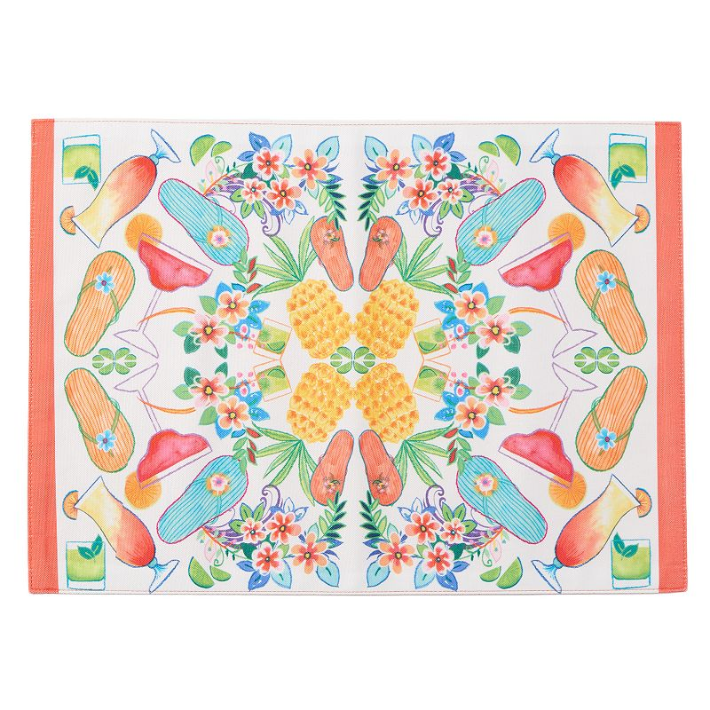 Celebrate Summer Together Kaleidoscope Placemat