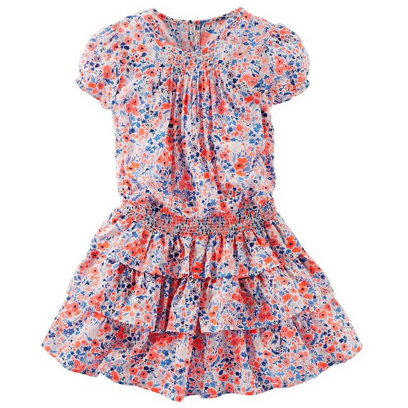Girls 4-6x OshKosh B'gosh® Tiered Floral Dress