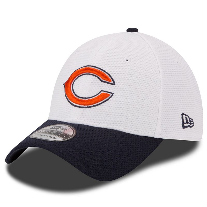 Youth New Era Chicago Bears Training Camp 39THIRTY Stretch-Fit Cap