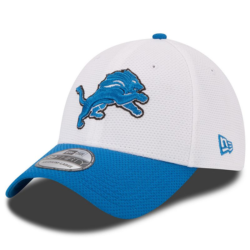 Youth New Era Detroit Lions Training Camp 39THIRTY Stretch-Fit Cap