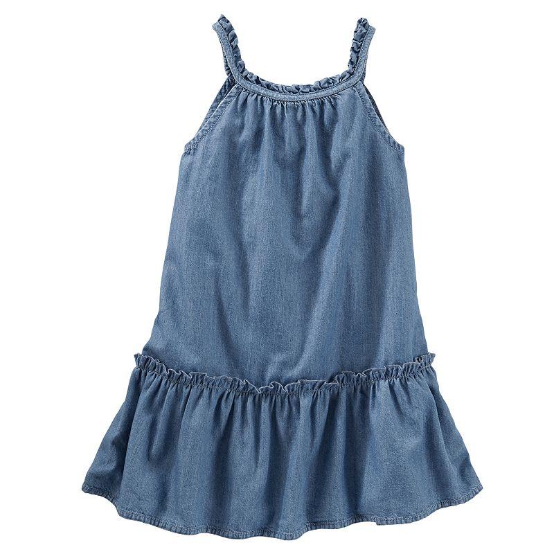 Girls 4-6x OshKosh B'gosh® Ruffled Drop-Waist Dress