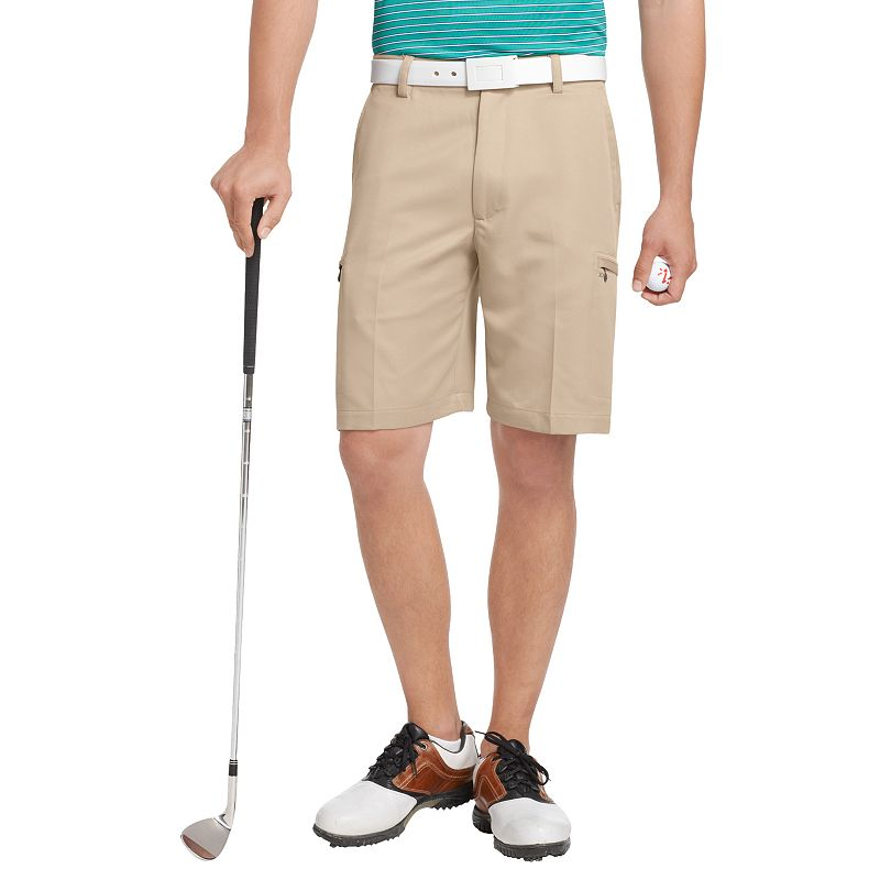 Big & Tall IZOD XFG Solid Microfiber Performance Cargo Golf Shorts