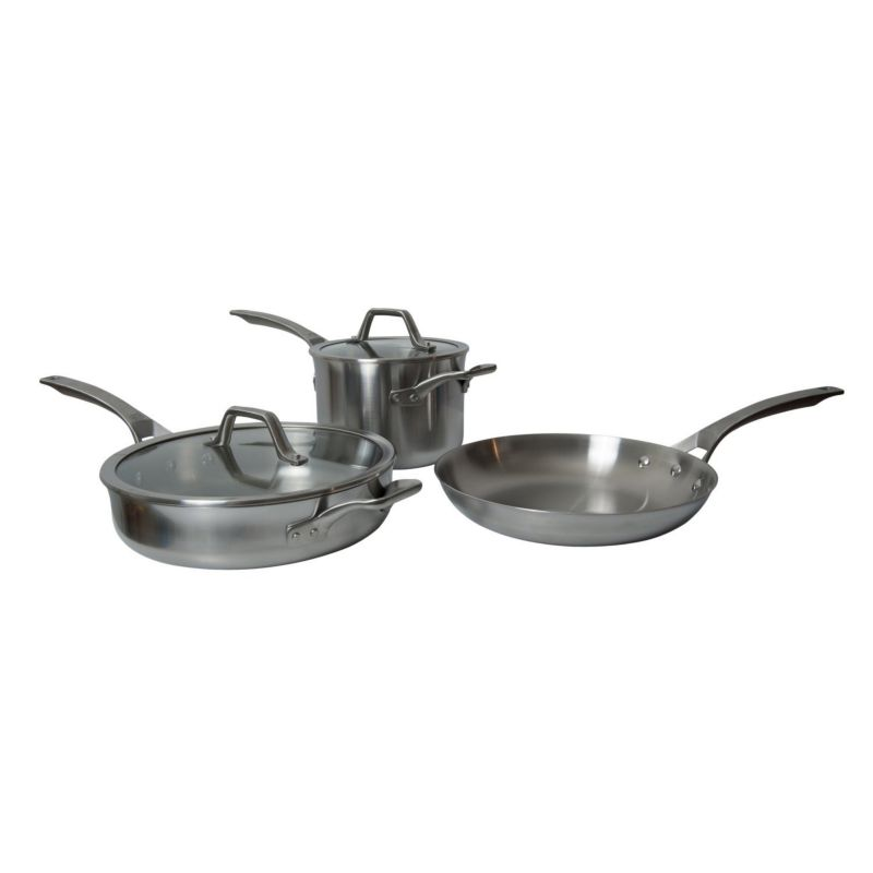 Calphalon Accucore 5 Pc Stainless Steel Cookware Set