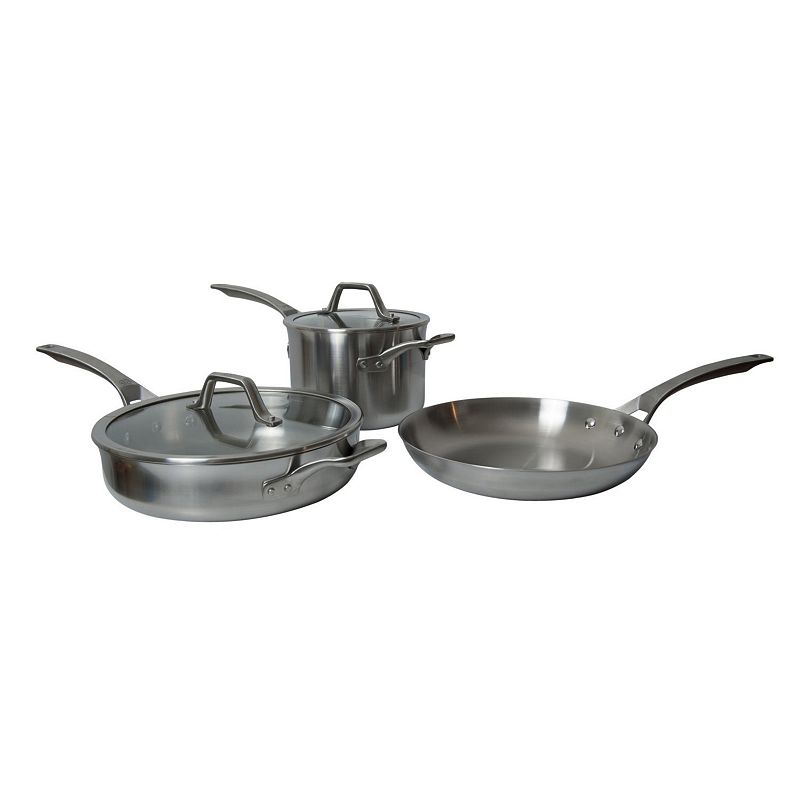Calphalon AccuCore 5-pc. Stainless Steel Cookware Set