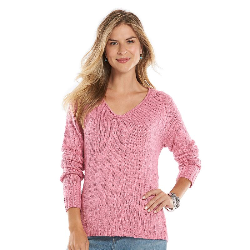 Women's Chaps Marled Sweater