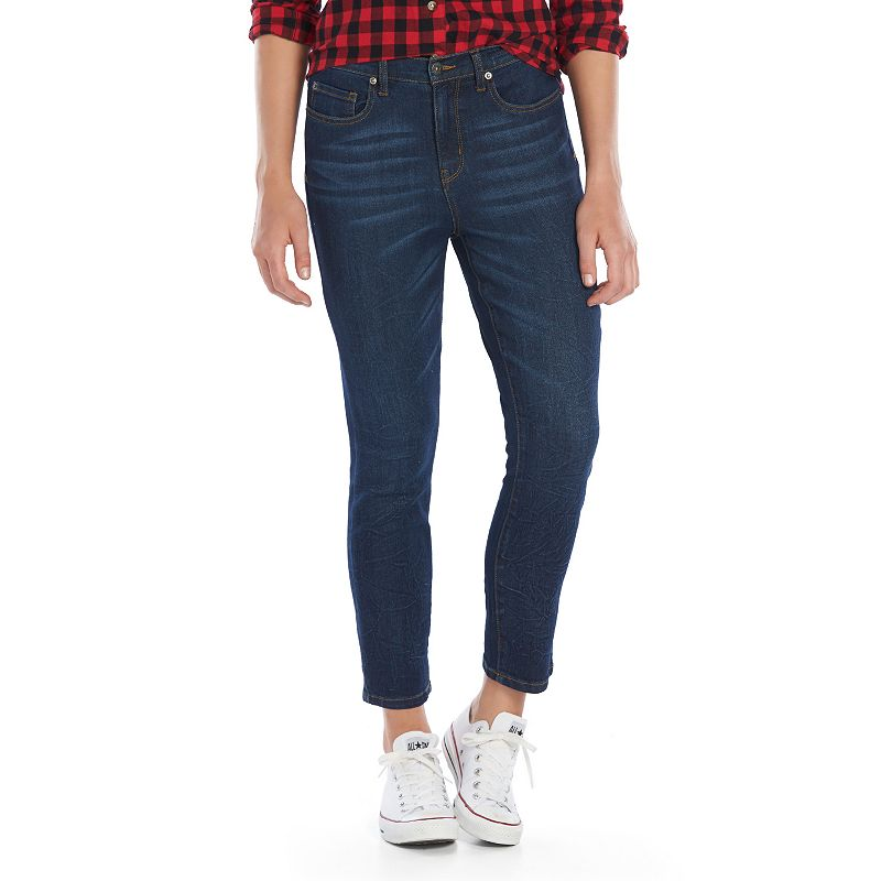 Juniors' Mudd® High-Waisted Capris