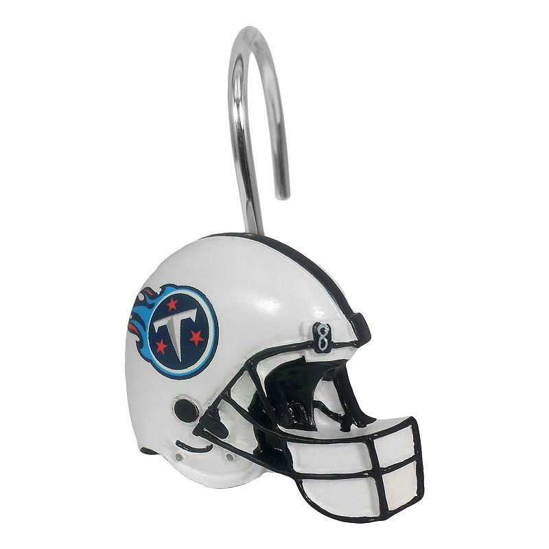Tennessee Titans 12-Pack Shower Curtain Hooks