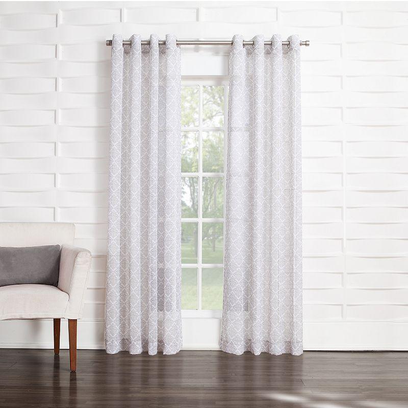 SONOMA Goods for Life™ Casbah Semi-Sheer Curtain