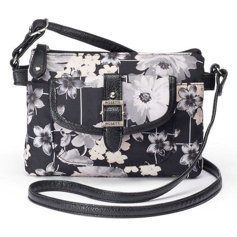 Rosetti Cash & Carry Eva Floral Crossbody Bag