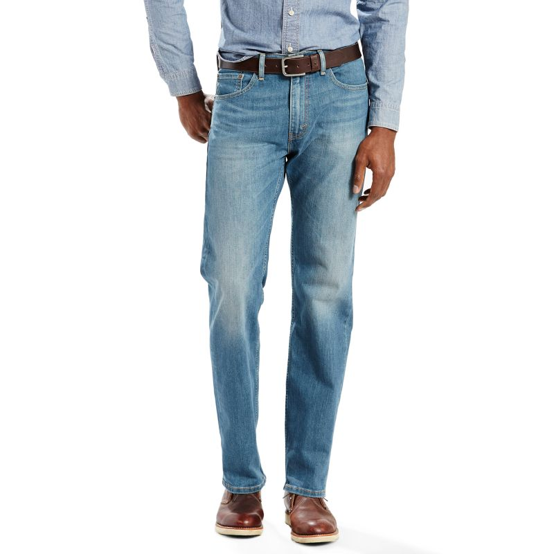 When I met my husband years ago, he was a true blue, loyal Levi's man. But recently the price of trendy denim has skyrocketed and, while maybe not as expensive as 7 for All Mankind, Levi's has gone up enough that he abandoned them for Wranglers.
