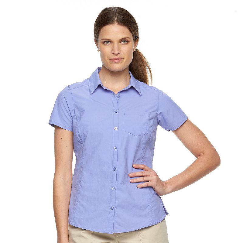 Women's Columbia Amberley Stream Solid Shirt