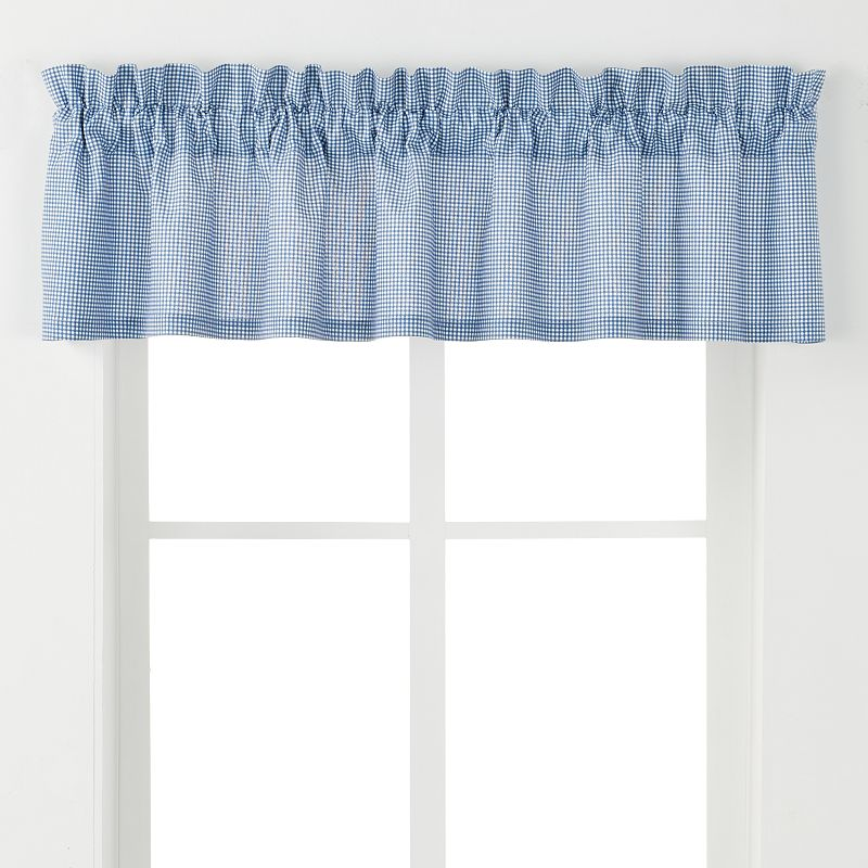Ellis Curtains Logan Check Valance - 70'' x 12''
