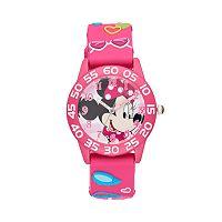 Disney's Minnie Mouse Girls' Time Teacher Watch