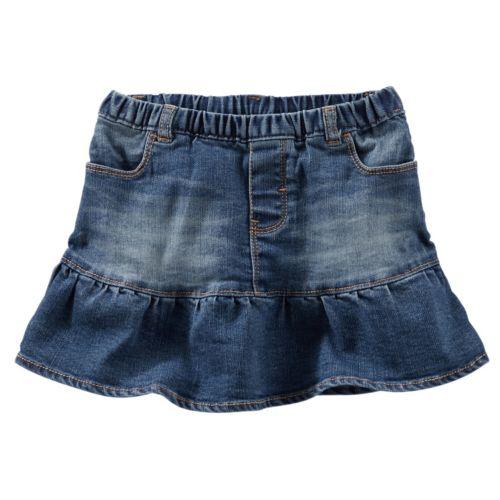 Toddler Girl OshKosh B'gosh® Pull-On Jean Skirt