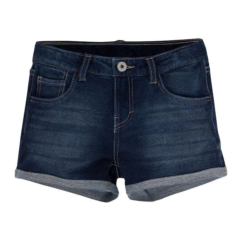 Levi's Knit Denim Shortie Shorts - Girls 7-16