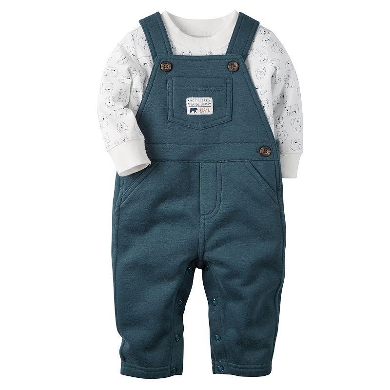 blue baby overalls kohl 39 s. Black Bedroom Furniture Sets. Home Design Ideas
