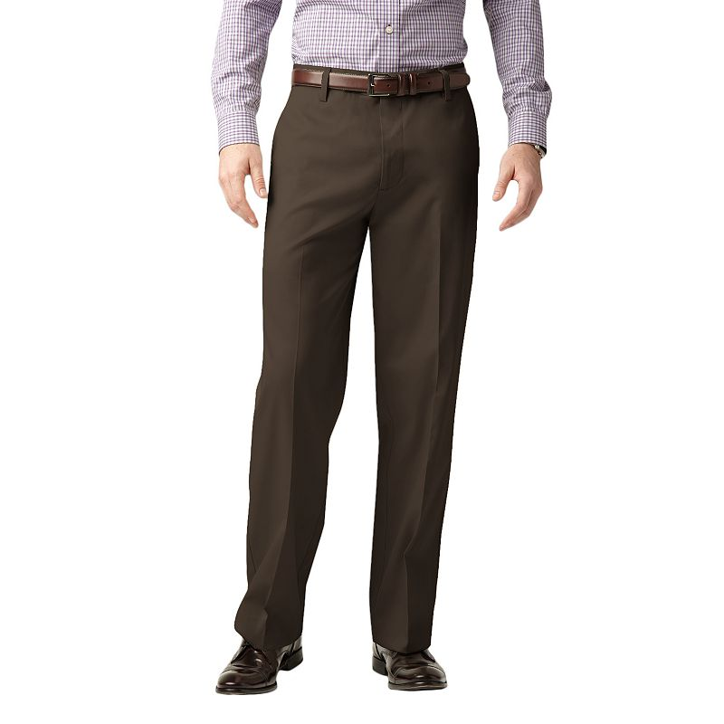 Dockers® Iron-Free Stretch D3 Classic-Fit Flat-Front Pants - Men