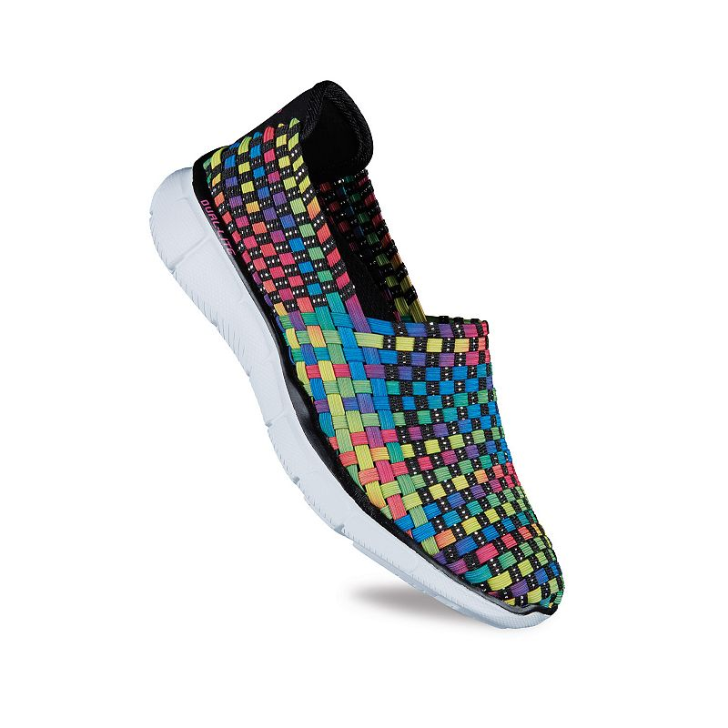Skechers Equalizer - Dance Party Women's Stretch Weave Slip-On Shoes