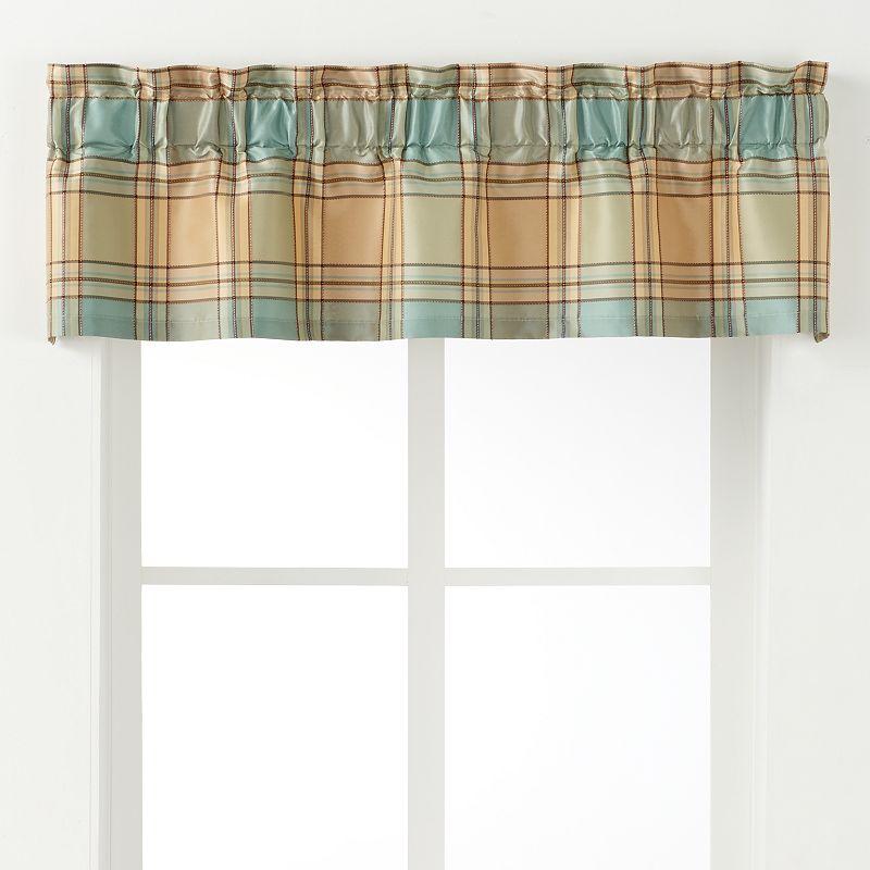 Polyester print window valance kohl 39 s for Kohls valances