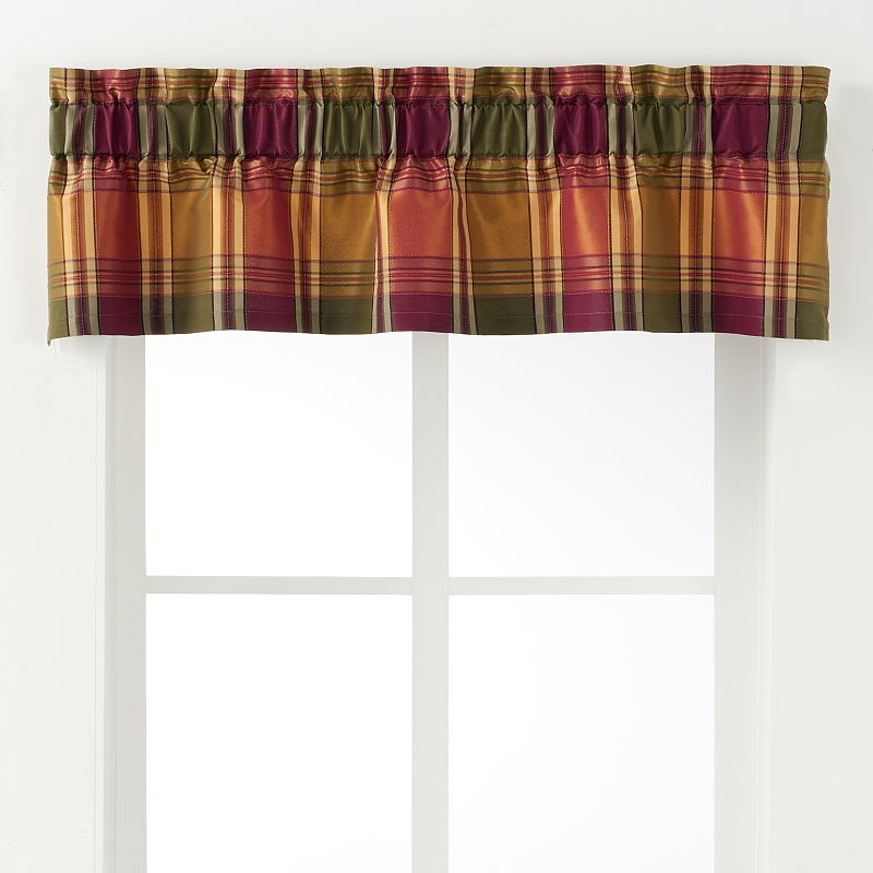 Ellis Curtains Boroughs Valance - 50'' x 15''