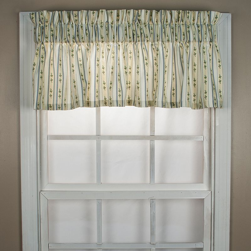Ellis Curtains Cynthia Stripe Valance - 70'' x 12''