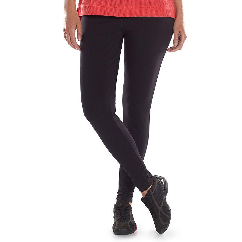 Plus Size Chaps Basic Leggings