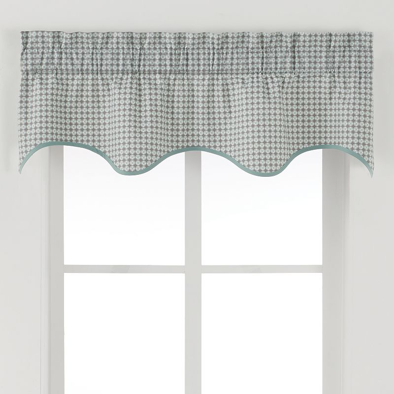 Ellis Curtains Strobe Valance - 50'' x 15''