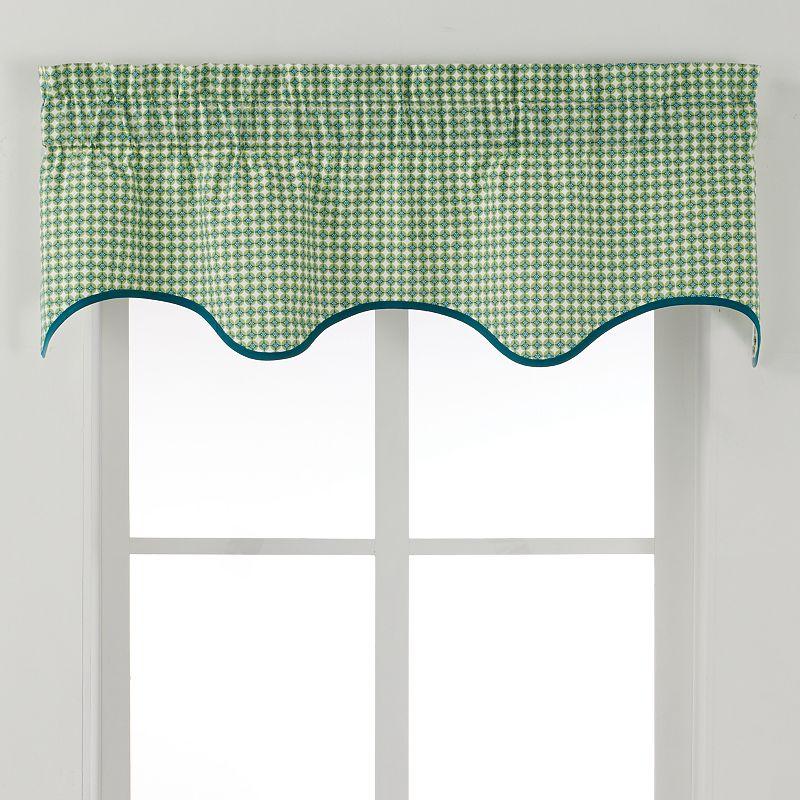 Ellis Curtains Strobe Valance - 50'' x 15''