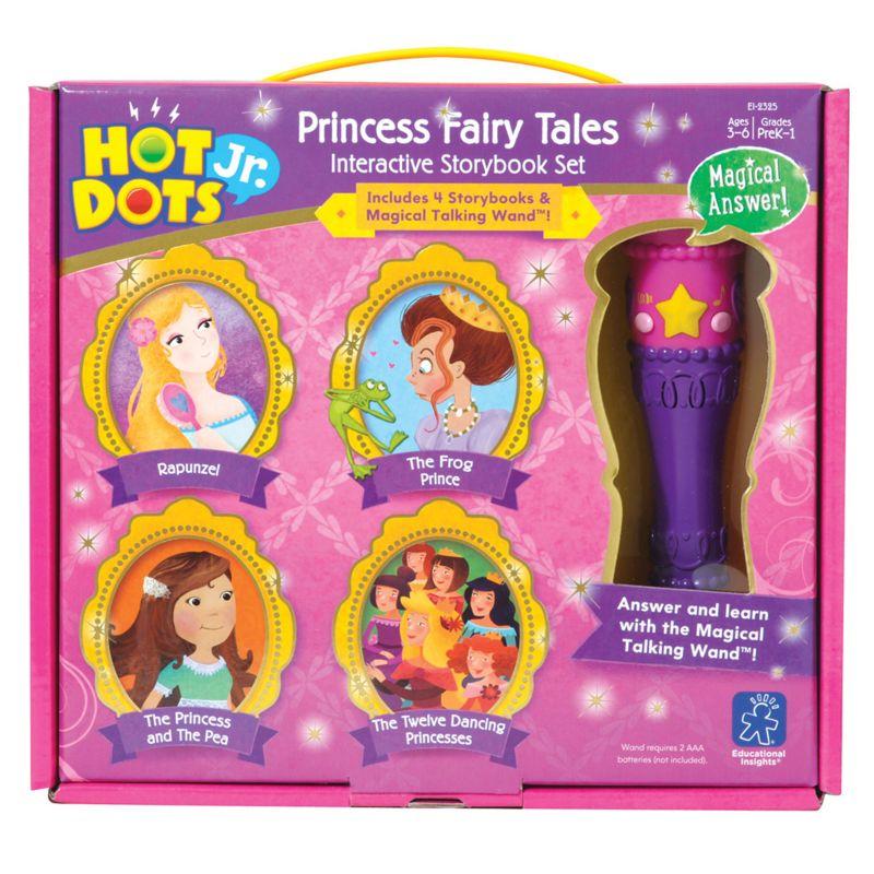 Hot Dots Jr. Princess Fairy Tales Storybook Set by Educational Insights, Multicolor thumbnail