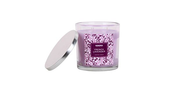 SONOMA Goods for Life French Lavender 14-oz. Jar Candle