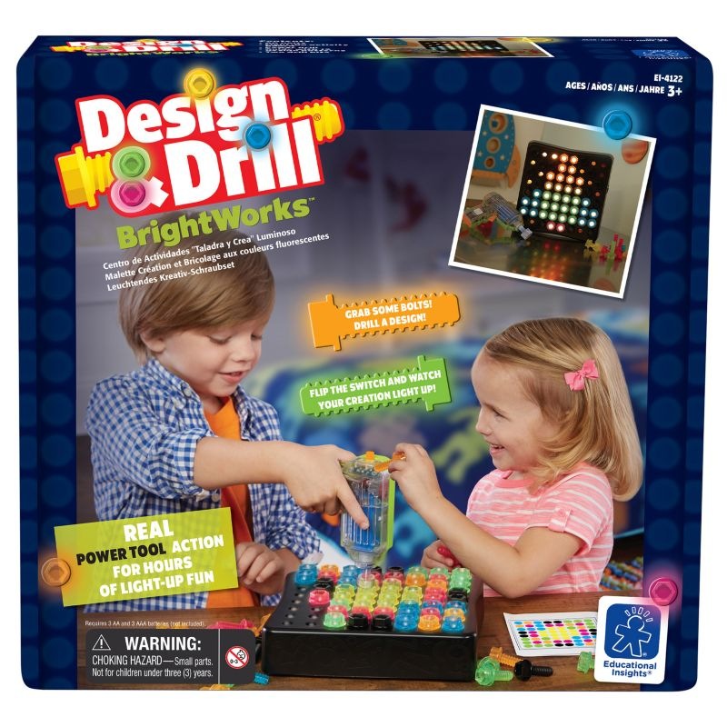 Educational Insights Design & Drill BrightWorks, Multicolor thumbnail